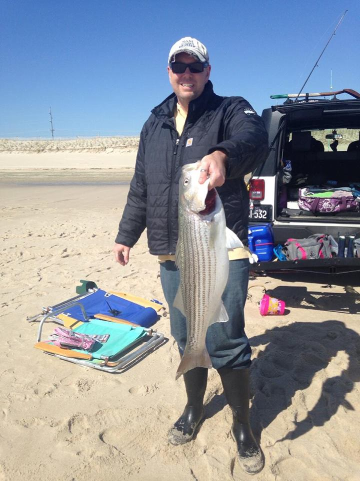 striped bass, rockfish, delaware, sussex county, bunker chunks,