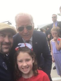 selfie king of delaware, vice president joe Biden, beau biden dedication