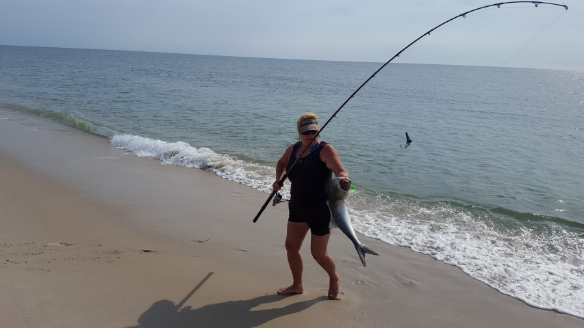 Cast for a cure 2016 delaware surf for Nj surf fishing report
