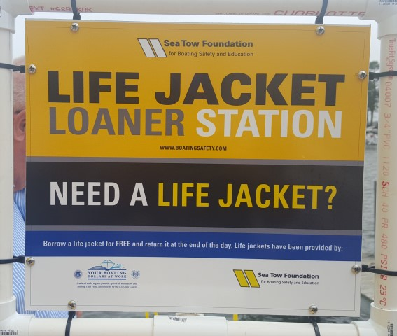 Life Jacket Loaner Station Sea Tow Foundation
