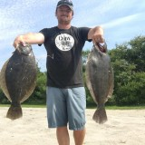 Six Pounder Flounder In Rehoboth Bay