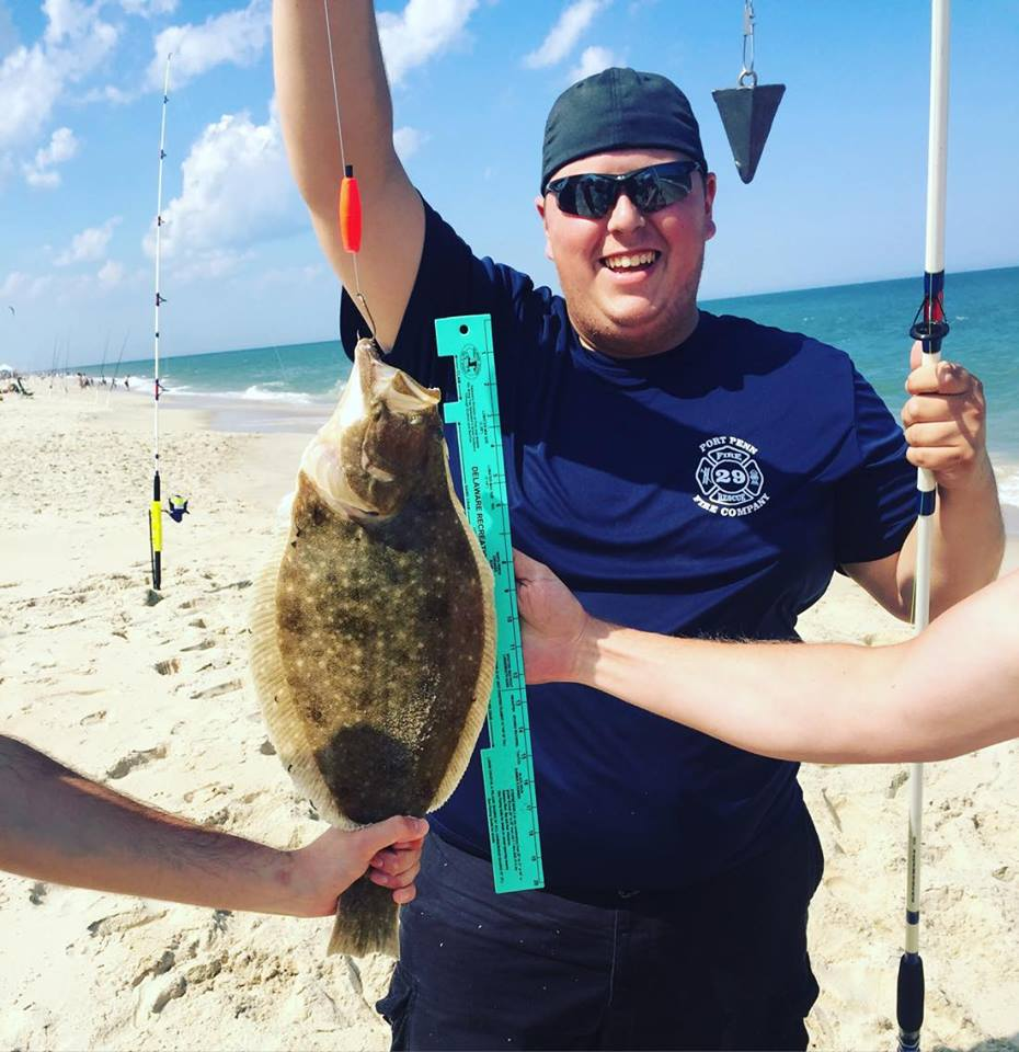 Six pounder flounder in rehoboth bay delaware surf for Rehoboth beach fishing