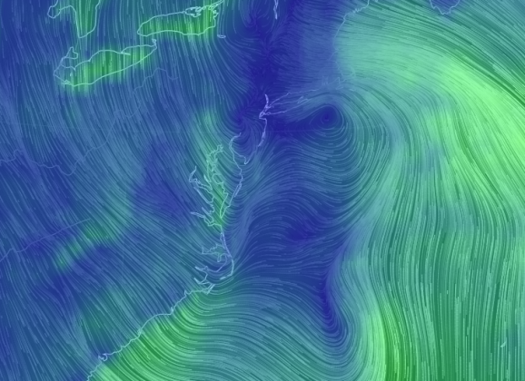 Animated Map Of Global Wind And Much More
