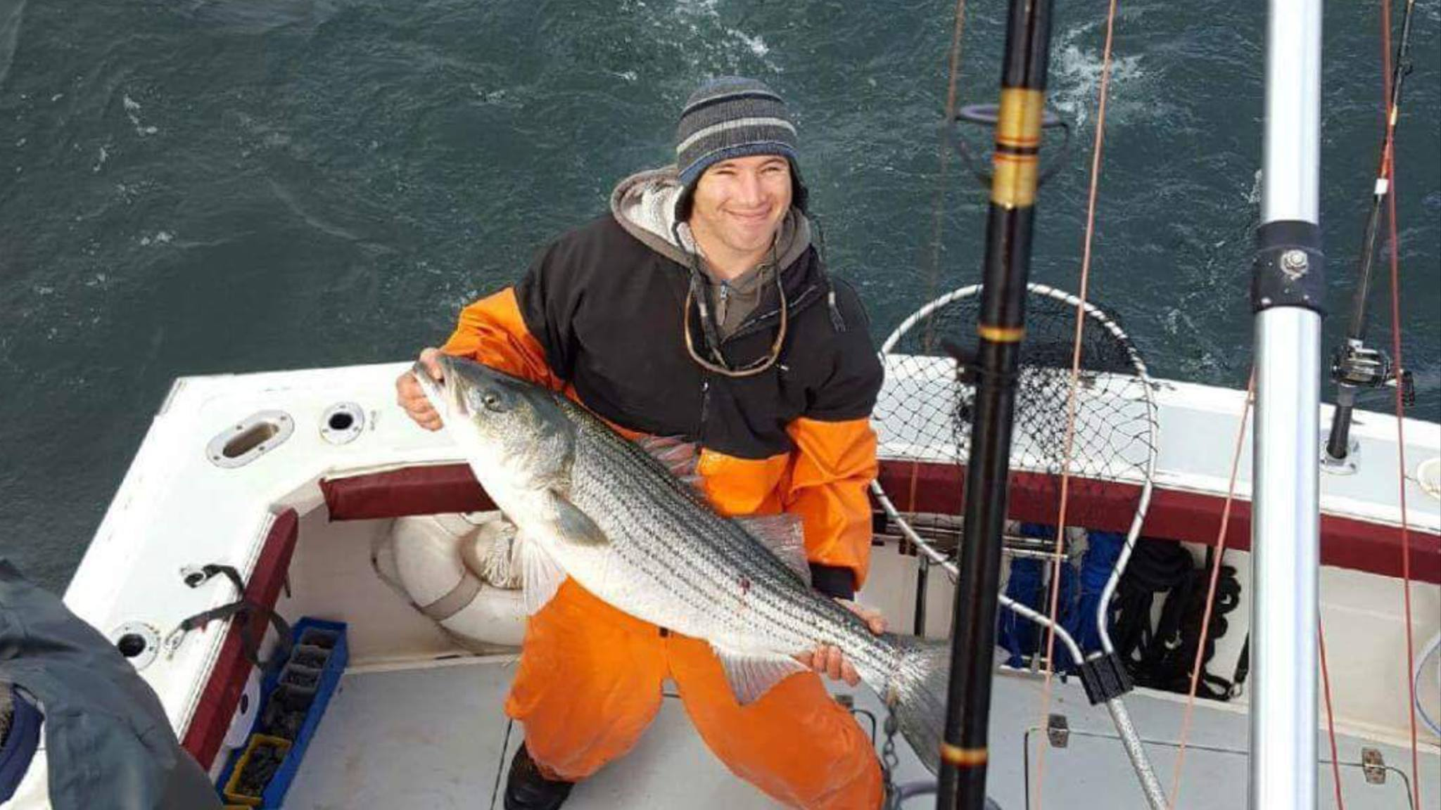 rockfish, striped bass, linesider, delaware, sussex county, indian river inlet, delaware seashorestate park, charles w cullen bridge,