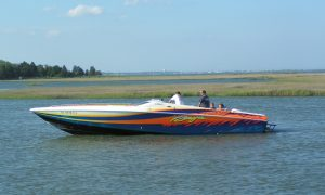 speed boat,masseys landing, long neck, delaware, sussex county,