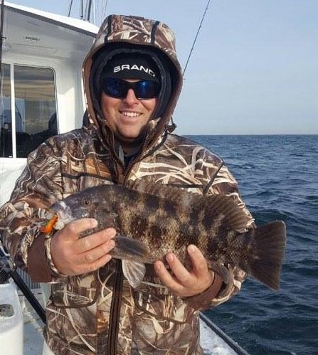 blackfish, tautog, offshore fishing, View from the Deep Blue, new jersey, wreck fihsing, reef fishing, structure, white chin