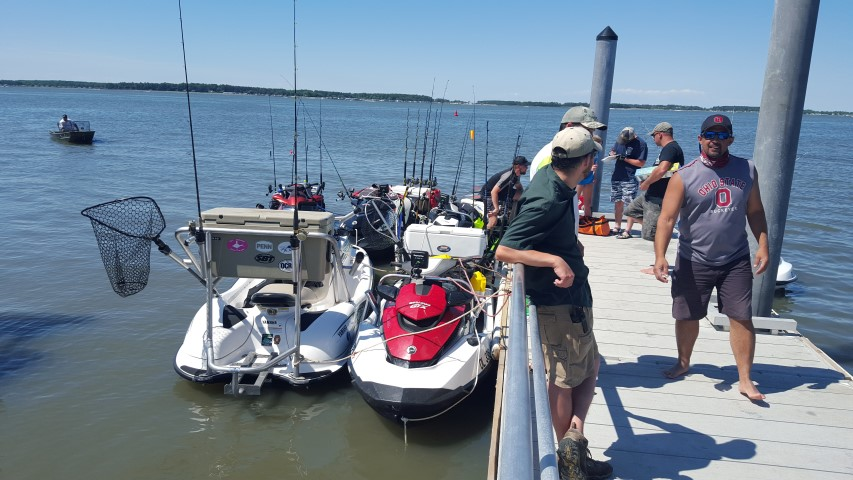 delaware, sussex county, holts landing state park, jet ski fishing, tournaments