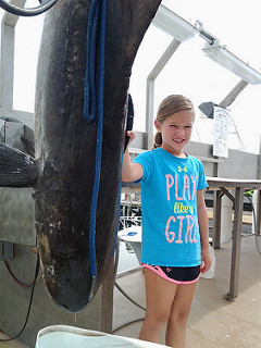 cobia, maryland state record, ocean city,