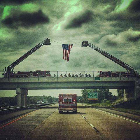 little creek fire company, saluting the fallen, respect, first responders, 82strong