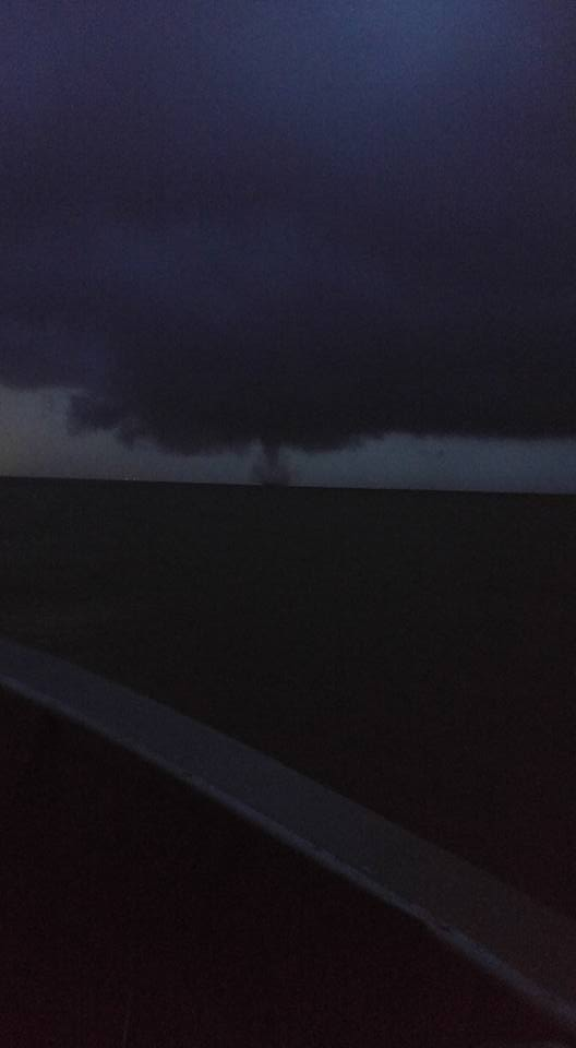 waterspout, delaware, sussex county, bay,