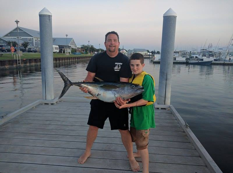 tuna, jet ski fishing, PWC fishing, delaware, sussex county