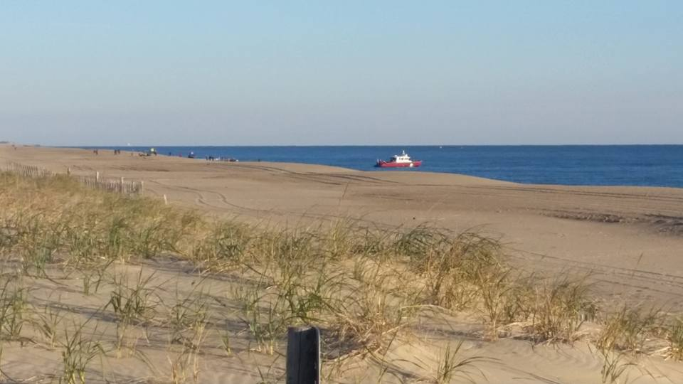 lewes fireboat, water rescue, rehoboth, dewey beach, delaware, sussex county
