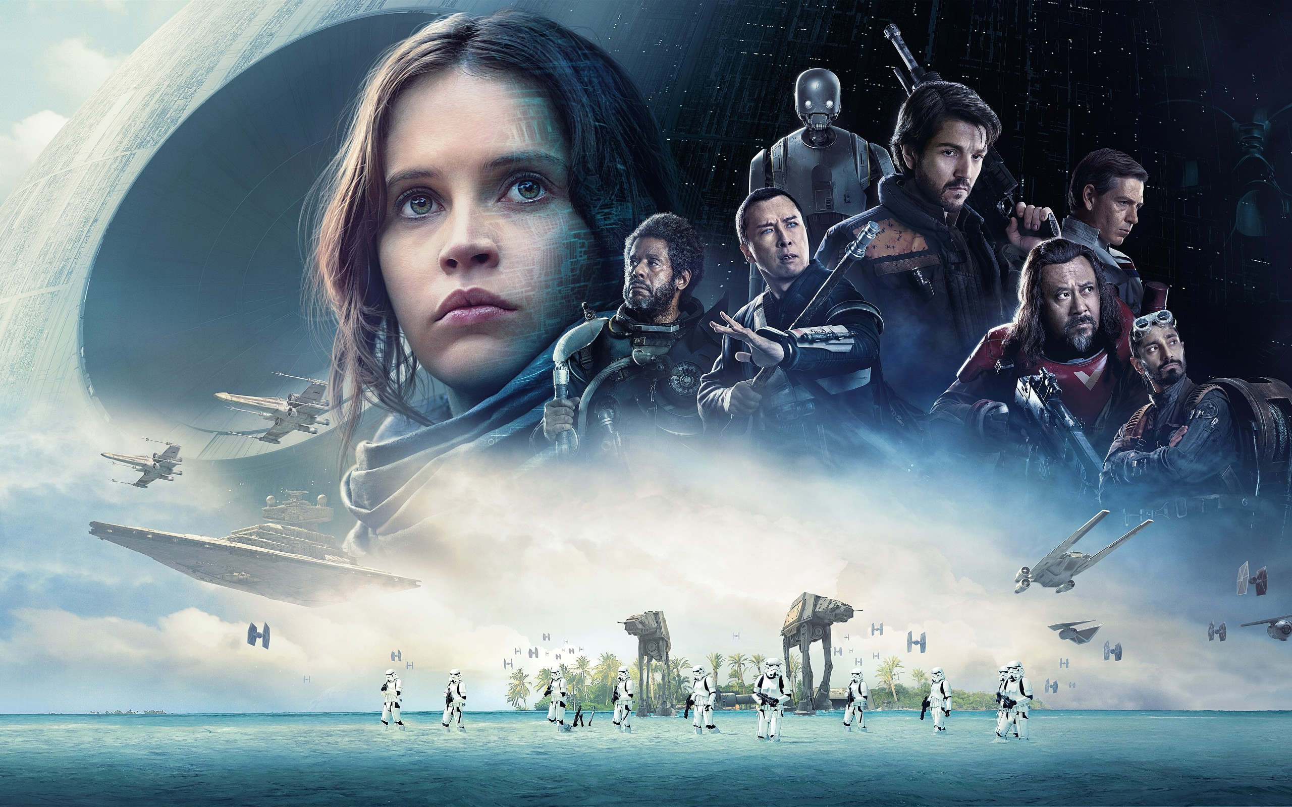 Rogue One Movie Poster, star wars,delaware, sussex county, midway theaters