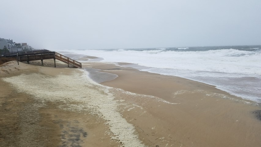 bethany beach, delaware, sussex county, delaware, coastal flooding, noreaster 2017