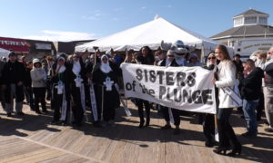Sisters of the Plunge, 26th annual lewes, polar plunge, delaware, sussex county, rehoboth beach boardwalk, special olympics delaware