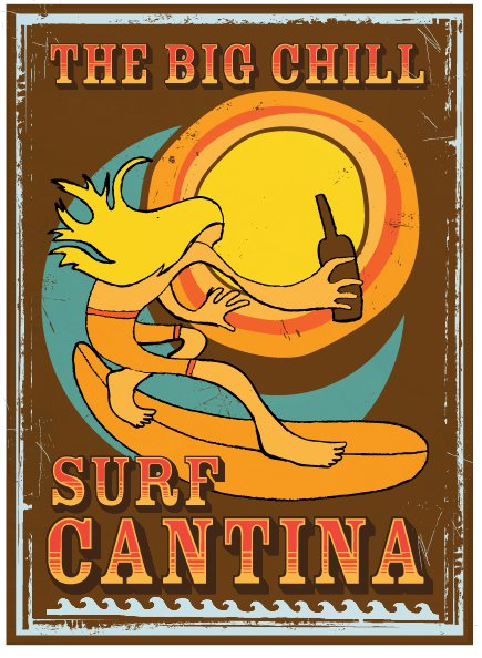 Big Chill Surf Cantina, beach bar, outdoor bar, delaware, sussex county, route 1, live music